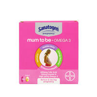 Sanatogen 孕妇复合维生素 + Omega-3脂肪酸 60粒