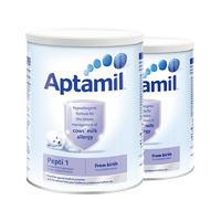 【2罐装】Aptamil 英国爱他美 深度水解抗牛奶蛋白过敏配方奶粉1段(0-6m) 800g