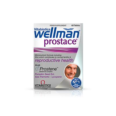Vitabiotics Wellman 男性前列腺营养片 60片
