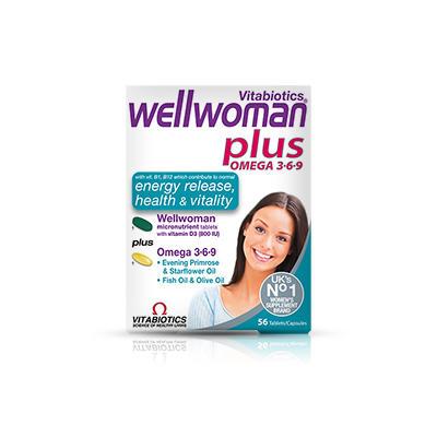 Vitabiotics Wellwoman 女性复合营养片+深海鱼油胶囊 28+28/盒