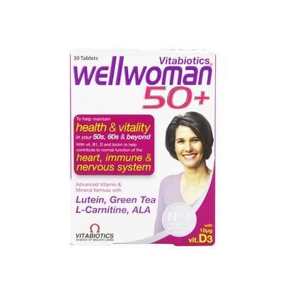 Vitabiotics Wellwoman 女性50+ 综合营养片 30片