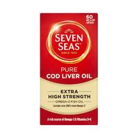 Seven Seas 七海 纯正鱼肝油(超强型) 60粒