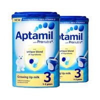 【2罐装】Aptamil 英国爱他美 3段奶粉 900g(1-2岁的宝宝)