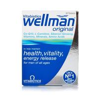 Vitabiotics Wellman 男性复合营养片 30片