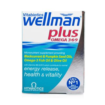 Vitabiotics Wellman 复合营养片+深海鱼油胶囊 56粒