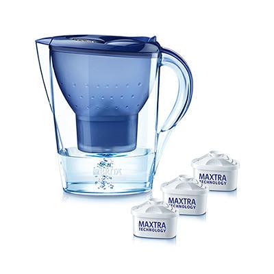 Brita 碧然德 滤水壶套装一壶三芯蓝色 2.4L