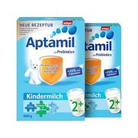 【2罐装】Aptamil 德国爱他美幼儿益生元配方奶粉2+段(2岁+) 600g