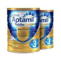 【2罐装】Aptamil Gold PLUS 3 澳洲爱他美 金装加强3段(1岁以上) 900g