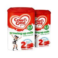 【2罐装】Cow&Gate 英国牛栏 婴儿配方奶粉4段(2-3岁) 800g