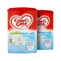 【2罐装】Cow&Gate 英国牛栏 抗饿配方婴儿奶粉(0-6m) 900g