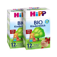 【2罐装】HiPP 德国喜宝 有机幼儿配方奶粉1+段(12个月以上) 800gx2