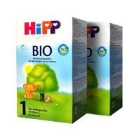 【2罐装】HiPP 德国喜宝 有机婴幼儿配方奶粉1段(0-6个月) 600gx2