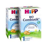 【2罐装】HiPP 德国喜宝 有机婴幼儿益生菌配方奶粉1段(0-6个月) 600gx2