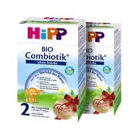 【2罐装】Hipp 德国喜宝 Bio Combiotik 2 有机天然益生菌系列奶粉 2段 600gx2(不含淀粉)