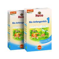 【2罐装】Holle 泓乐 有机新生儿配方奶粉1段(0个月以上) 400g