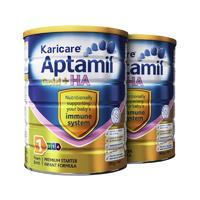 【2罐装】Karicare Aptamil  澳洲可瑞康爱他美 金装加强一段奶粉 900g