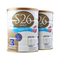 【2灌装】S-26 Gold 澳洲惠氏金装3段奶粉 900克(1岁以上的婴儿)