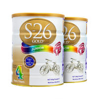 【2罐装】S-26 Gold 澳洲惠氏金装4段奶粉 900克(2岁以上的宝宝)