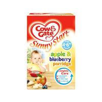 Cow & Gate 苹果&蓝莓果味麦片粥(4-6个月起) 125g