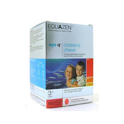 Equazen 儿童Omega-3鱼油咀嚼片 180片(草莓味)