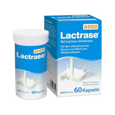 Lactrase 乳糖酶6000单位 60粒(乳糖不耐受)
