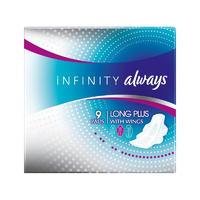 Always 棉面超薄系列液体卫生巾(日用加长带护翼) 9片