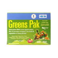 Amazing Grass 抗氧化水果排毒瘦身美容果蔬粉(便携装) 1袋 (枸杞巴西莓味)