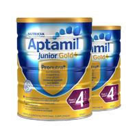 【2罐装】Aptamil 爱他美 金装4段婴幼儿配方奶粉 (2岁以上)2*900g/罐
