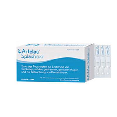 Artelac Splash 玻尿酸滴眼液  60支/0.5ml(缓解眼疲劳/干涩)