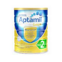 【6罐包邮装】Aptamil 新西兰爱他美金装二段奶粉 900g