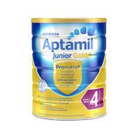【6罐包邮装】Aptamil 新西兰爱他美金装四段奶粉 900g