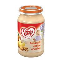 Cow & Gate 香蕉&饼干碎屑泥罐头(7个月起) 200g*6瓶