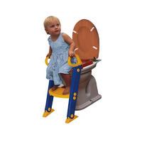 Bambino 儿童阶梯式辅助婴儿坐便器(安全保护) 1个(蓝色/黄色/红色)