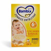 Bambix 阳光早餐系列精细谷物营养米粉 (香蕉味) 250g (6-7个月宝宝)