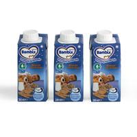 Bambix 晚安系列饼干米粉 3×200ml (6-11个月宝宝)