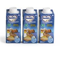 Bambix 晚安系列精细米粉 (香蕉味) 3×200ml (6-11个月宝宝)