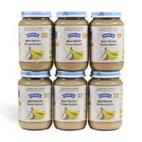 Biobim 标兵 婴儿有机香蕉苹果泥 6瓶x200g (6个月以上)