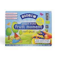 Biobim 标兵 婴儿有机即食苹果蓝莓蜜桃混合果泥 4瓶x100g(4个月以上)