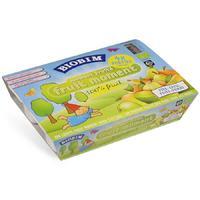 Biobim 标兵 婴儿有机即食苹果香蕉混合果泥 4瓶x100g(4个月以上)
