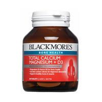 Blackmores 活性钙镁+维生素D3片 Total Calcium Magnesium+D3 60片