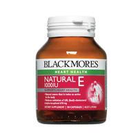 Blackmores 澳佳宝 NaturalE 1000IU维生素E胶囊 美容 加强抗衰老 30粒