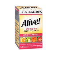 Blackmores 澳佳宝 Alive! Women's 女性活力复合维他命 60片