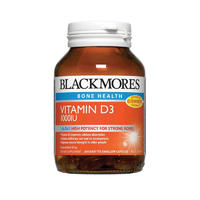 Blackmores 澳佳宝 Vitamin D3 1000IU 骨骼健康维生素D3胶囊 200粒