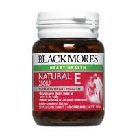 Blackmores 澳佳宝 NaturalE 250IU 维生素E胶囊 50粒
