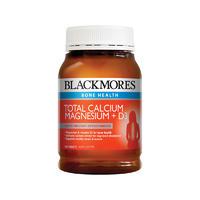 Blackmores 澳佳宝 活性钙镁+维生素D3营养片 200片