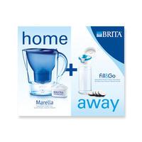 Brita 碧然德 滤水壶 + 便携式过滤水杯 套装
