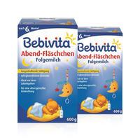 【2盒装】Bebivita 贝唯他 婴幼儿配方夜间奶粉 2*600g/罐(6个月以上)