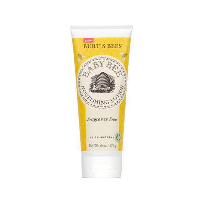 Burt's Bees 小蜜蜂 无香料乳木果维E保湿身体乳 170g