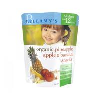 Bellamy's 贝拉米 婴幼儿有机菠萝苹果香蕉水果干 20g(1岁以上)