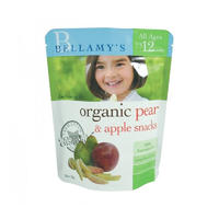 Bellamy's 贝拉米 婴幼儿有机雪梨苹果水果干 20g(1岁以上)